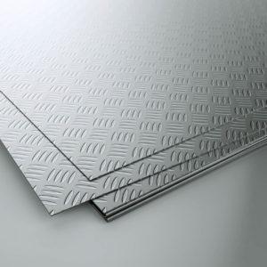 Лист рифленый нержавеющий 6 мм